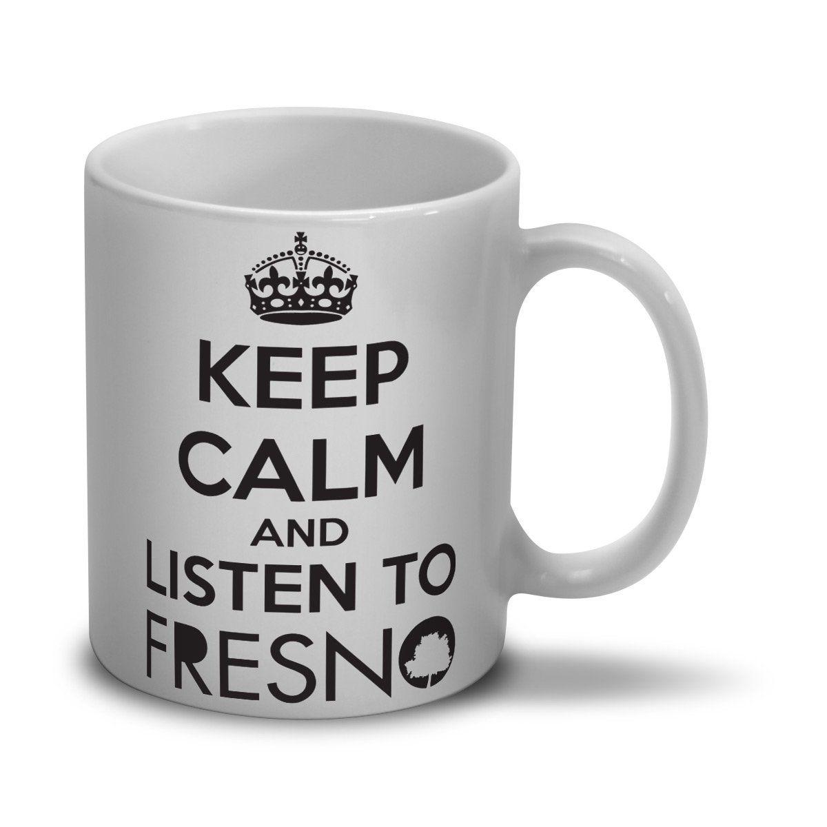 Caneca Fresno - Keep Calm Branca