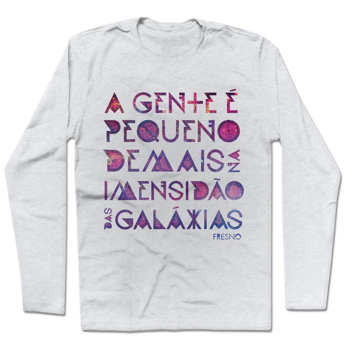 Camiseta Manga Longa Fresno - Galáxias