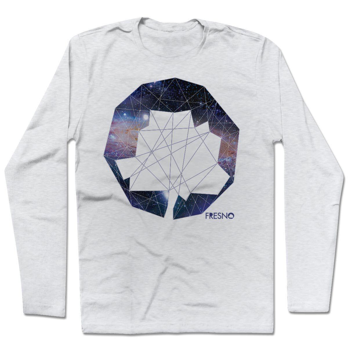 Camiseta Manga Longa Fresno - Logo Galáxias