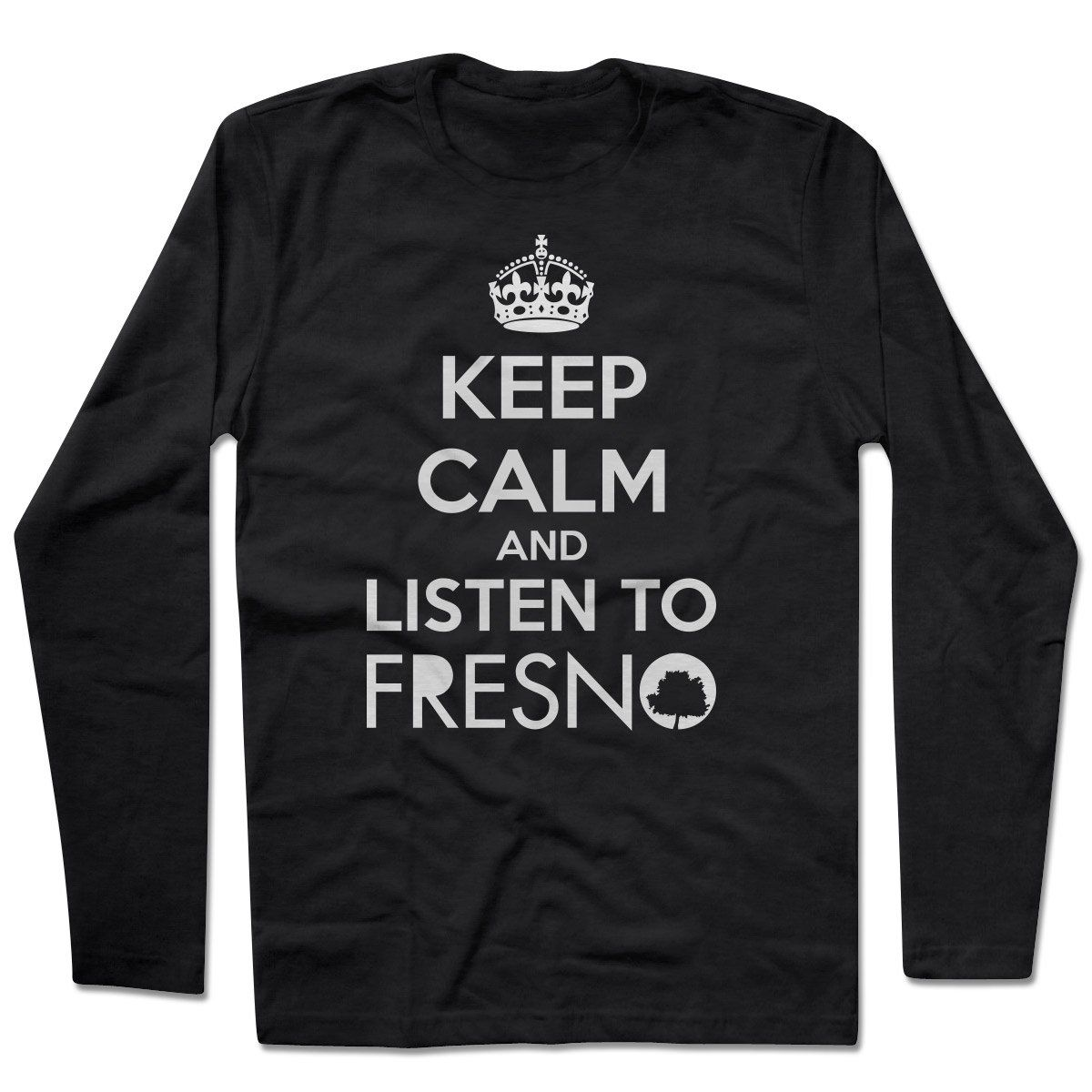 Camiseta Manga Longa Fresno - Keep Calm Black
