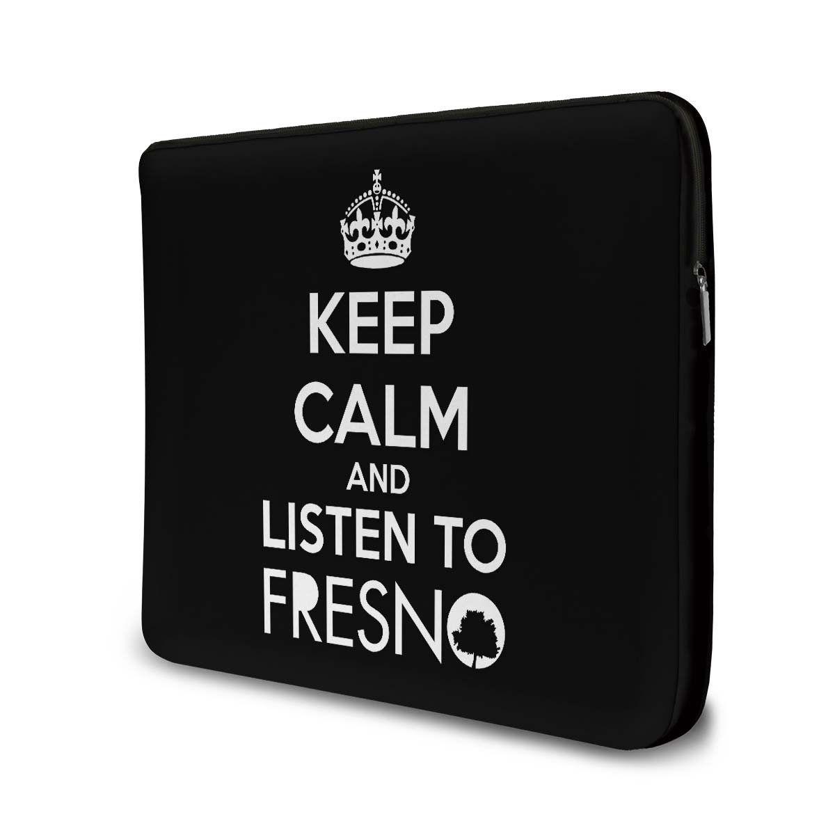 Capa Para Notebook Fresno - Keep Calm