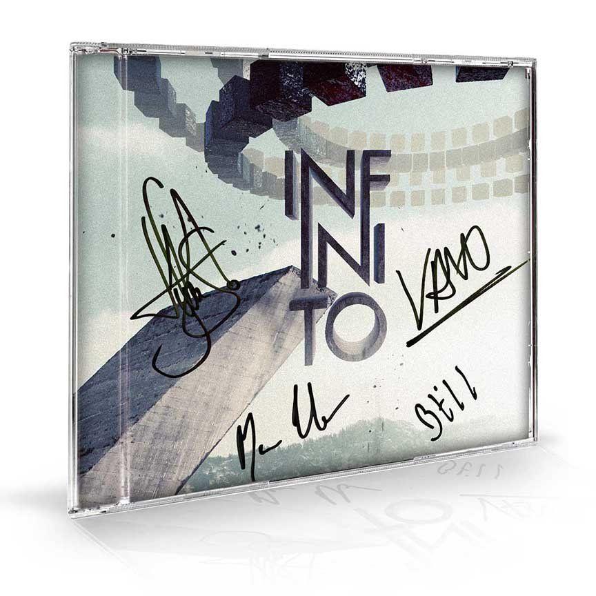 CD Autografado Fresno - Infinito