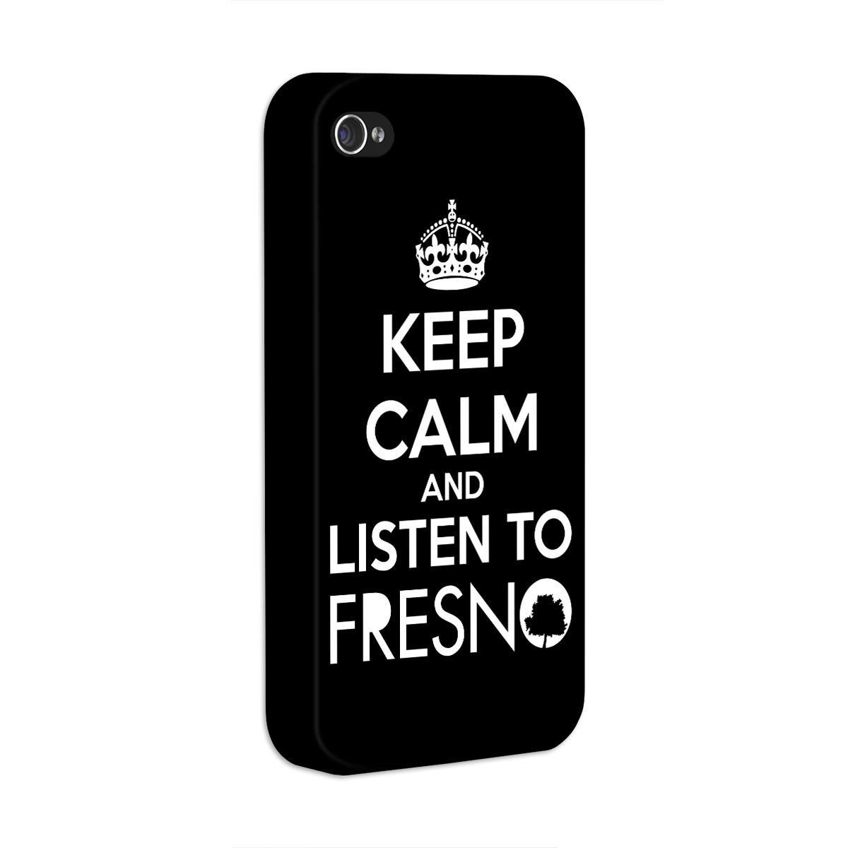 Capa de iPhone 4/4S Fresno - Keep Calm