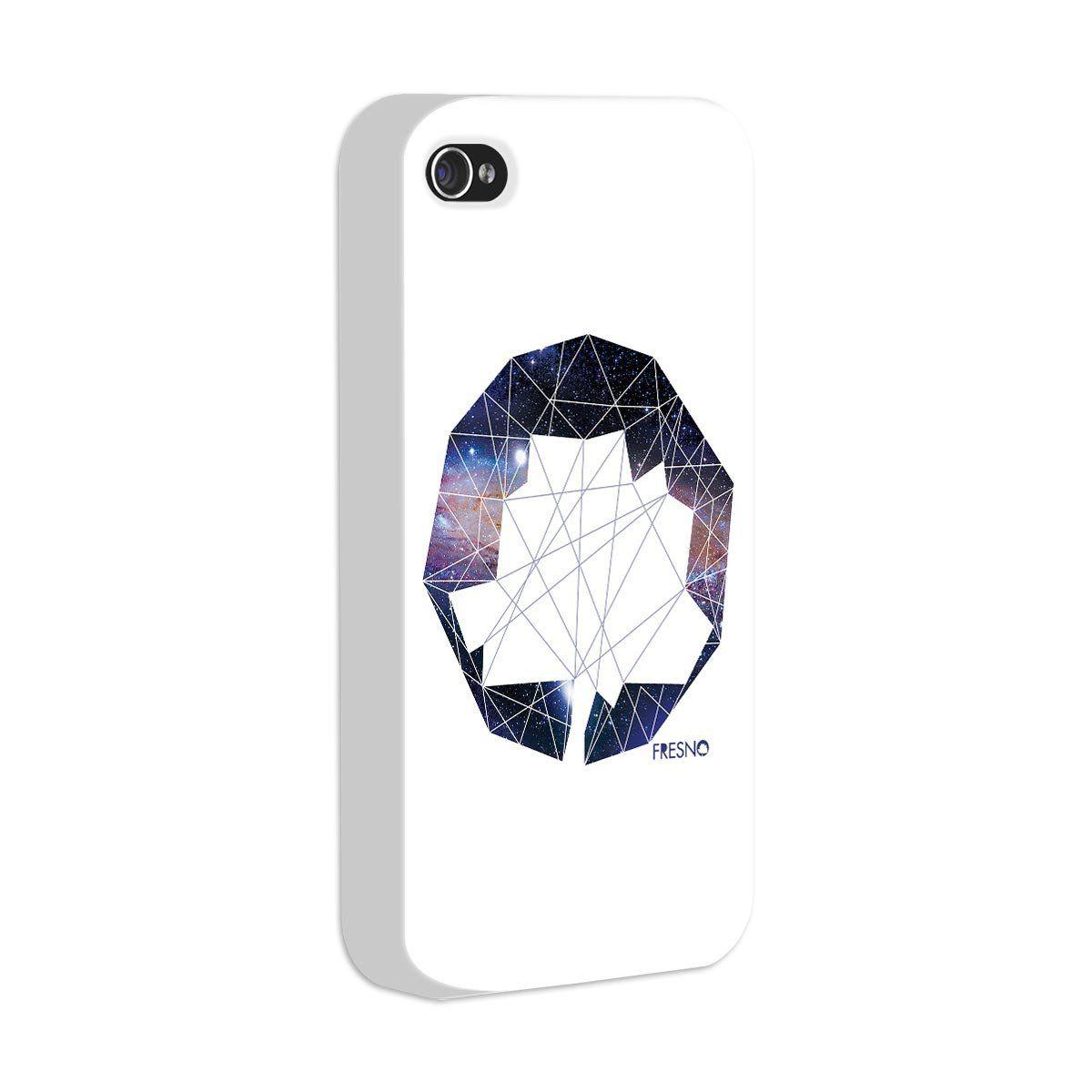 Capa de iPhone 4/4S Fresno - Logo Galáxias