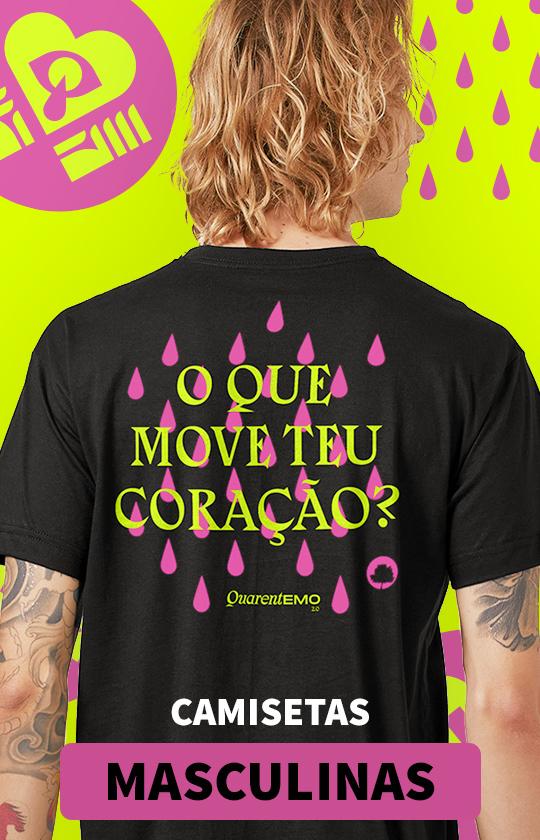 camiseta eva masculina
