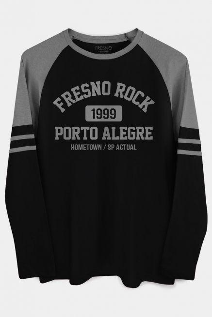 Camiseta Manga Longa Masculina Fresno Rock