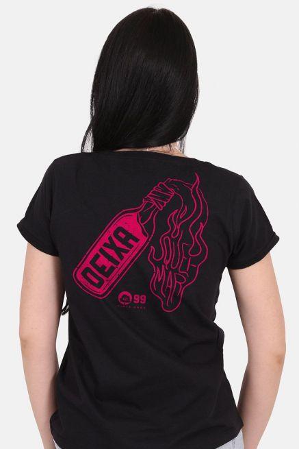 Camiseta Feminina Fresno 20 Anos Deixa Queimar