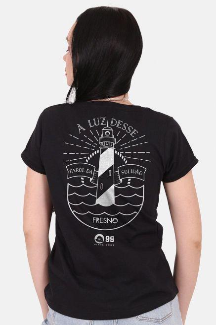 Camiseta Feminina Fresno 20 Anos Farol