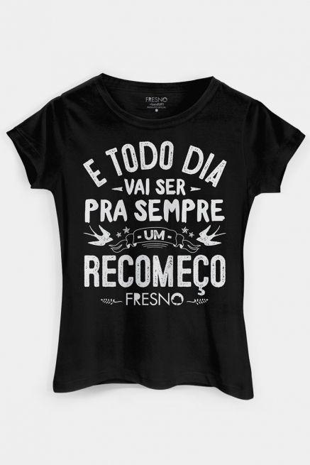 Camiseta Feminina Fresno Acordar Exclusiva
