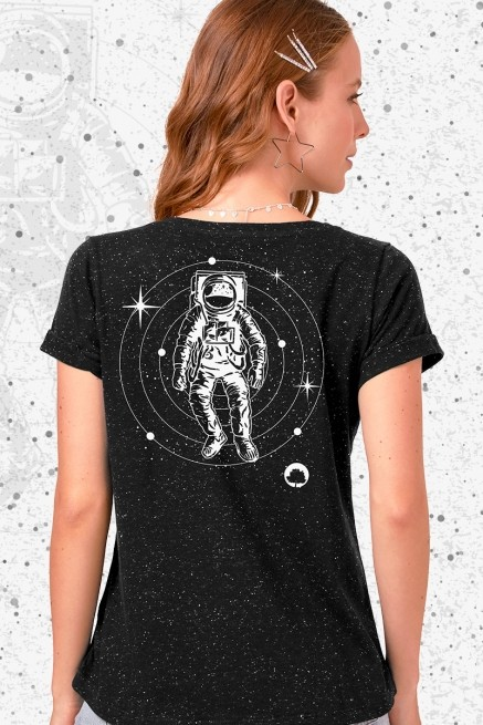 Camiseta Feminina Fresno Astronauta