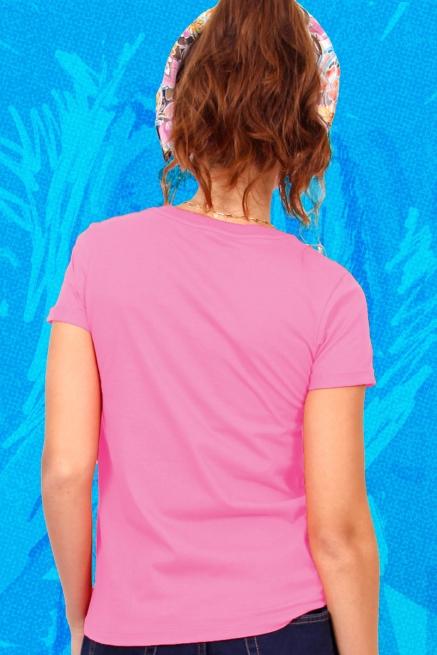 Camiseta Feminina Fresno Ciano 15 Anos - Cada Poça Dessa Rua tem um Pouco de Minhas Lágrimas