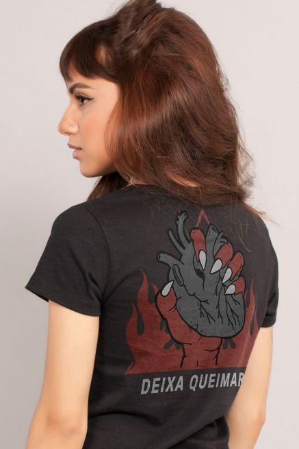 Camiseta Feminina Fresno Deixa Queimar