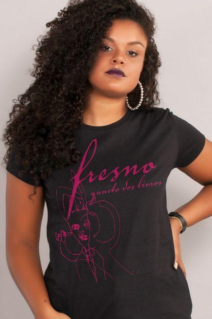 Camiseta Feminina Fresno Quarto dos Livros