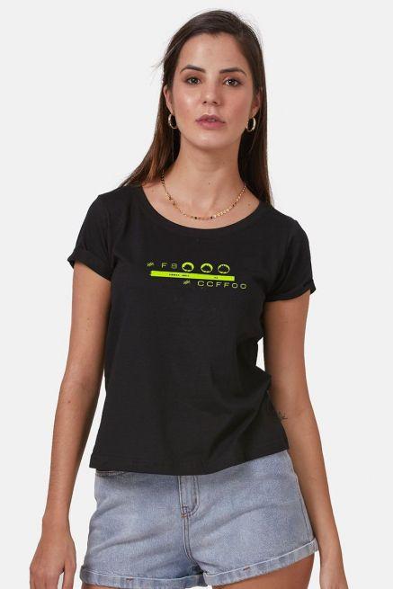 Camiseta Feminina Fresno Sua Alegria Foi Cancelada Banda