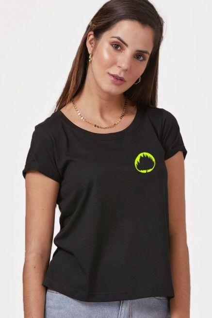 Camiseta Feminina Fresno Sua Alegria Foi Cancelada #F8