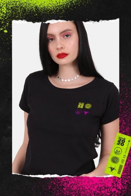 Camiseta Feminina Fresno x Far From Alaska Eva Robô