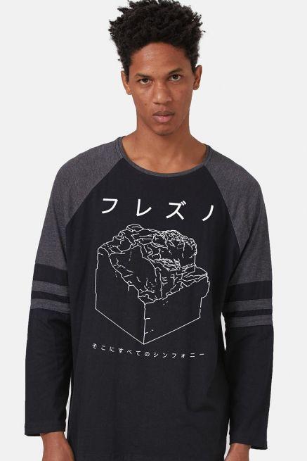 Camiseta Manga Longa Masculina Fresno Sokoni Sube