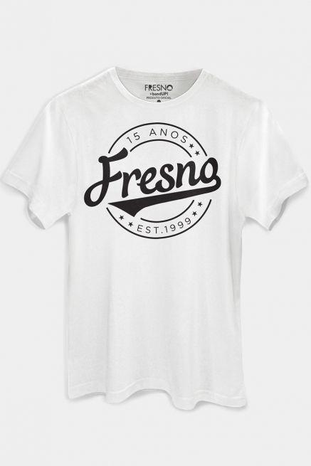 Camiseta Masculina Fresno 15 Anos Est 1999 White