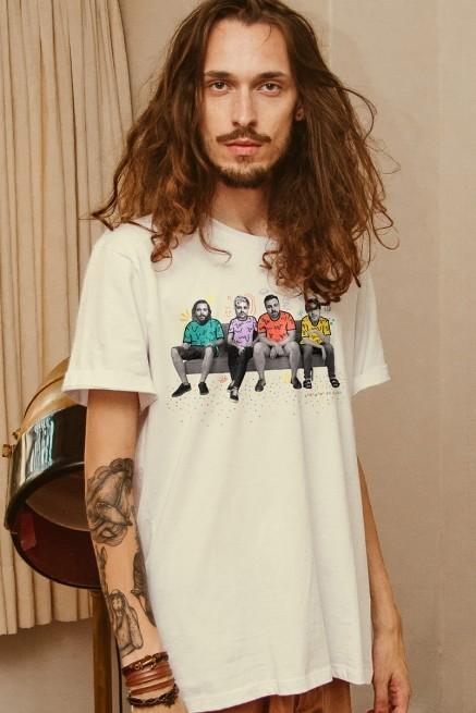 Camiseta Masculina Fresno Carnaemo Em Casa