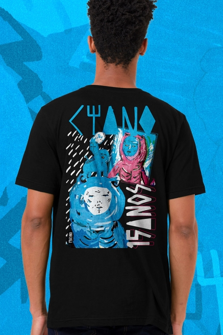 Camiseta Masculina Fresno Ciano 15 Anos - O Peso do Mundo