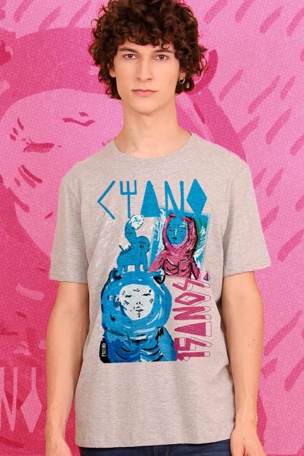 Camiseta Masculina Fresno Ciano 15 Anos - Quebre as Correntes