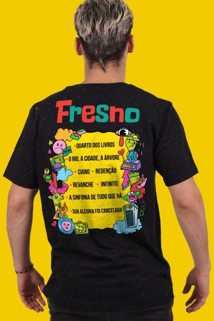 Camiseta Masculina Fresno Festival de Música Ícones