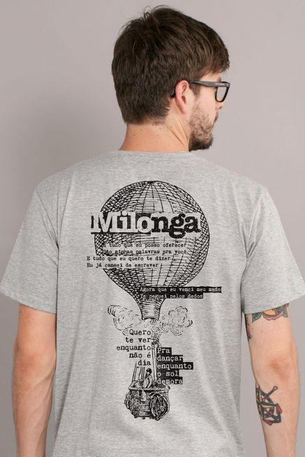 Camiseta Masculina Fresno Milonga