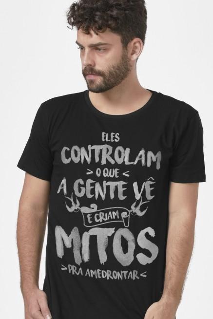 Camiseta Masculina Fresno Mitos