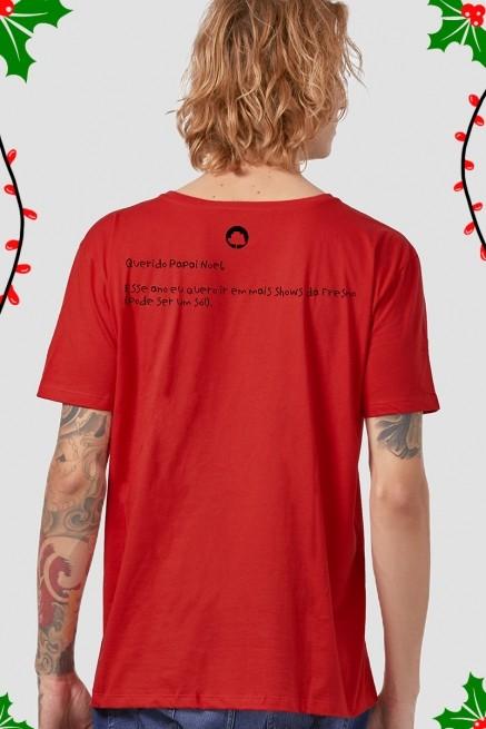 Camiseta Masculina Fresno Natal Emo
