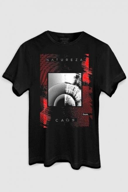Camiseta Masculina Fresno Natureza Caos Blood