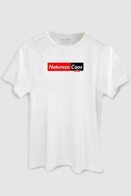 Camiseta Masculina Fresno Natureza Caos White