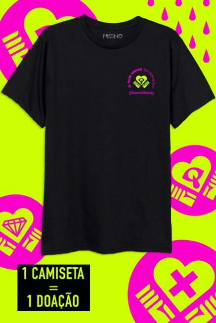Camiseta Masculina Fresno O que move teu Coração?