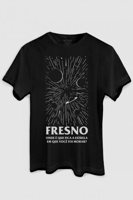 Camiseta Masculina Fresno Onde Fica a Estrela