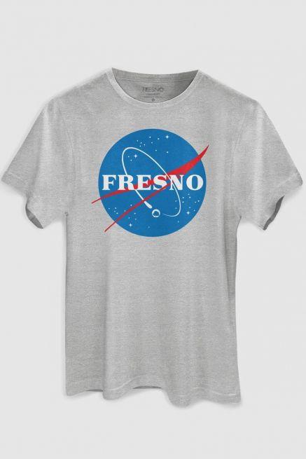 Camiseta Masculina Fresno Programa Espacial