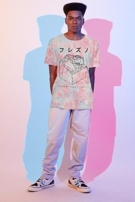 Camiseta Masculina Fresno Sokoni Sube