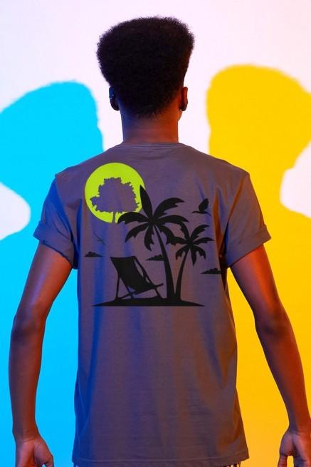 Camiseta Masculina Fresno Verão Logo Árvores