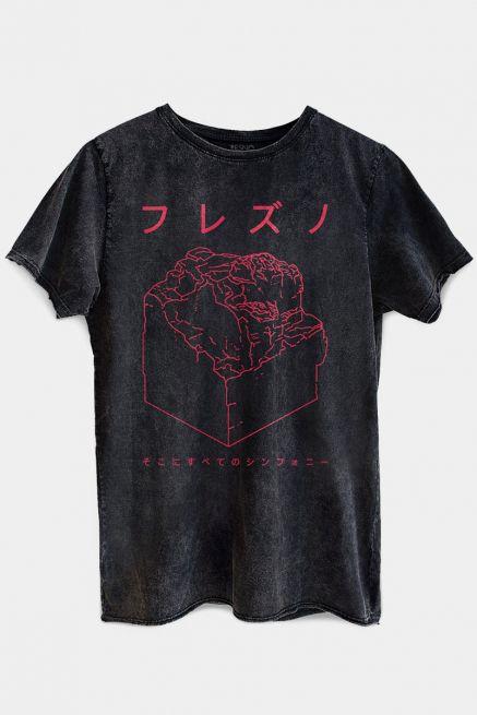 Camiseta Masculina Marmorizada Fresno Sokoni Sube