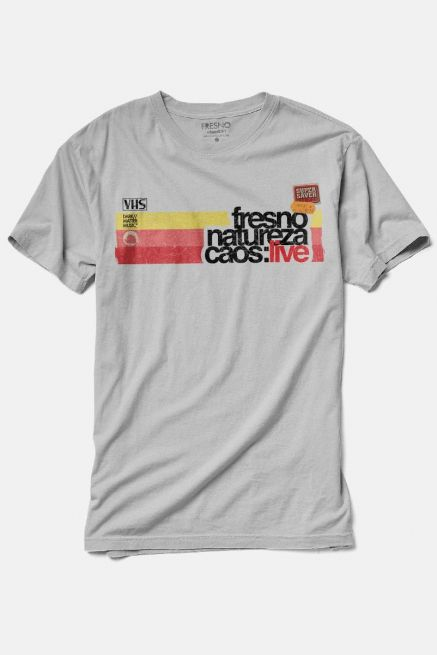 Camiseta Masculina Mescla Fresno Natureza Caos: Live