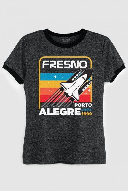 Camiseta Ringer Feminina Fresno Mission