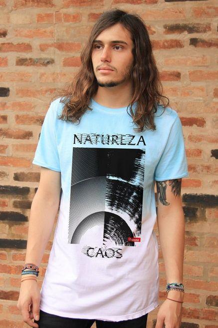 Camiseta Tie Dye Masculina Fresno Natureza Caos
