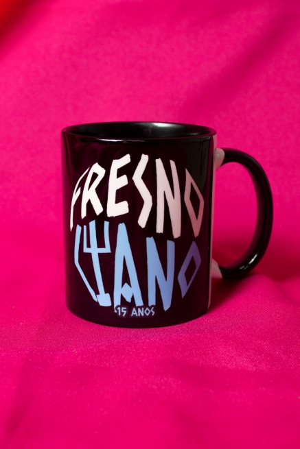 Caneca Fresno Ciano 15 Anos Logo Árvore
