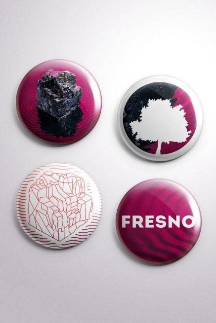 Cartela de Buttons Fresno A Sinfonia de Tudo Que Há