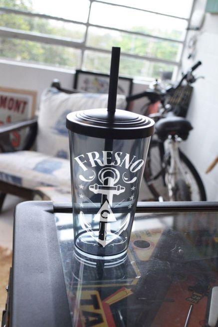 Copo Acrílico Fumê Fresno Anchor