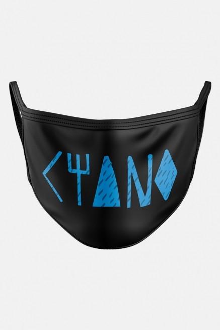 Máscara Fresno Ciano Logo