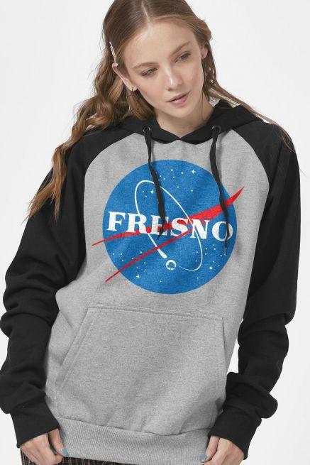 Moletom Raglan Feminino Fresno Programa Espacial