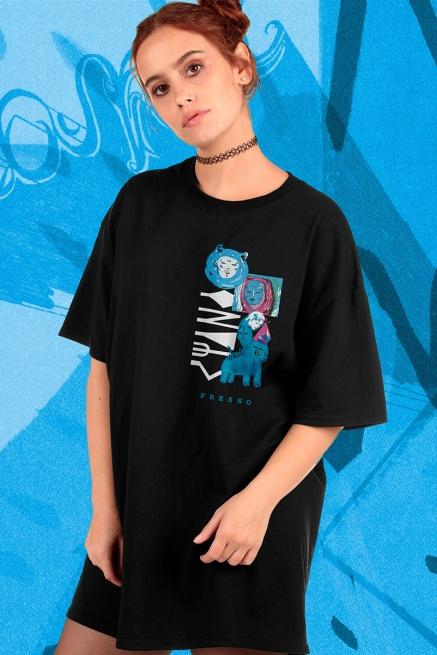 T-shirt Feminina Fresno Ciano 15 Anos - Trajetória