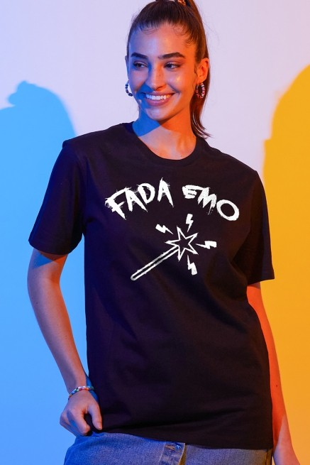 T-shirt Feminina Fresno Fada Emo