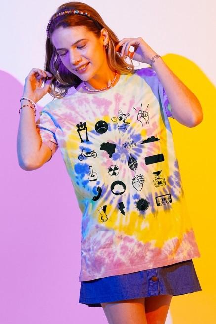 T-shirt Feminina Fresno Sua Alegria foi Cancelada Ícones