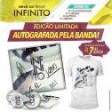 Combo Fresno Infinito - CD Autografado + Button + Adesivo + Camiseta