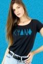 Camiseta Feminino Fresno Ciano Logo